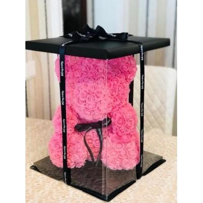 Акция Мишка 3D из роз