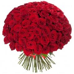 Осенний вихрь (65 роз)