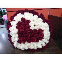 Кармона 101 роза