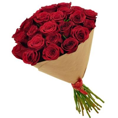 Первая песнь весны (21 роза)