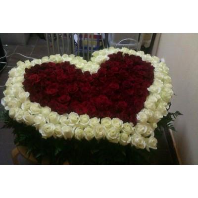 Гранат (255 роз)