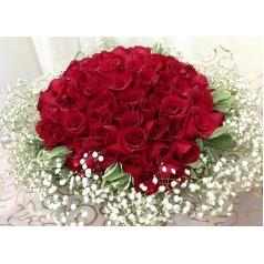 Колеус (51 роза)