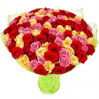 Эдельвейс 101 роза