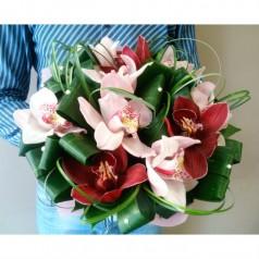 """Букет орхидеи цимбидиум """"Любимая прелесть"""""""