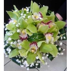 "Букет орхидеи цимбидиум ""Мечты о Париже"""