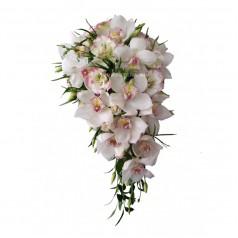 """Букет орхидеи цимбидиум """"Барби"""" 15 шт"""