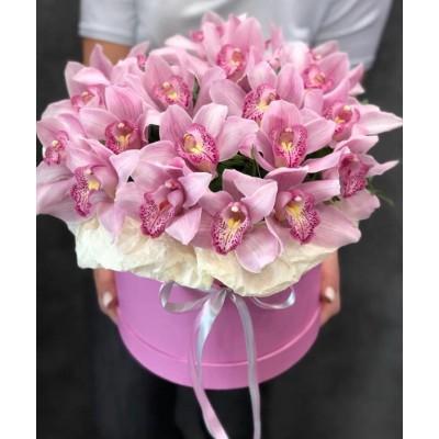 """Букет орхидей цимбидиум """"Благодарное сердце"""""""