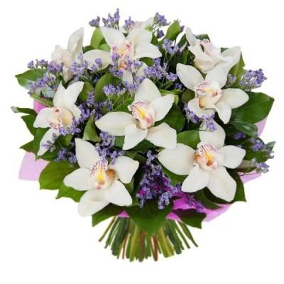 """Букет орхидей цимбидиум """"Ласковые мечты"""""""
