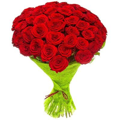 Букет Сизаль (45 роз)