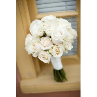 Крыжовник (15 роз) букет для невесты