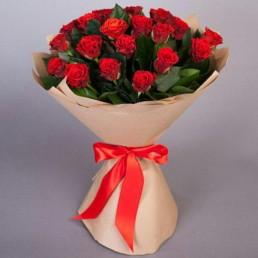 Букет Розы в бумаге
