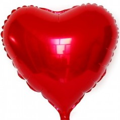 Гелиевый шар Фольга Сердце
