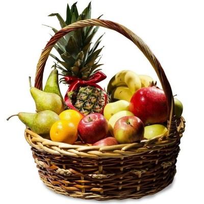 Корзина фруктов Ананас-Гранат