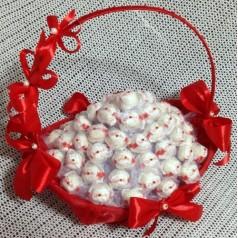 Корзина конфет Банты