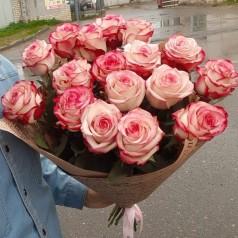 Букет роз Нежный (15 шт)