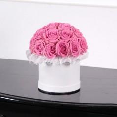 Шляпная розовая