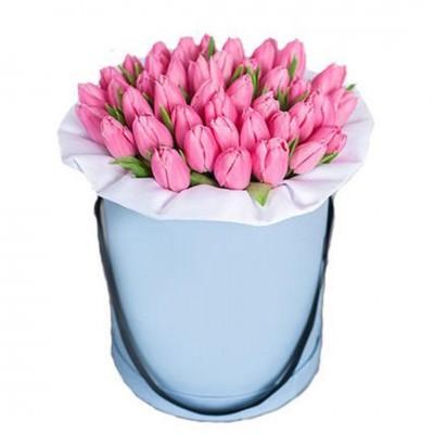 Изысканная - тюльпаны 35 шт в коробке
