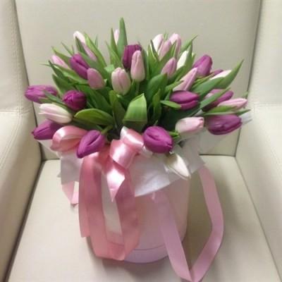 """Совершенная"" Тюльпаны цветные светлые 31 шт"
