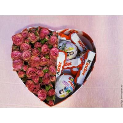 Композиция Шоколадки (9 роз)