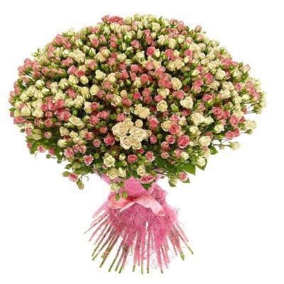 Улыбчивая (51 роза)