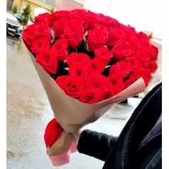 """Букет """"Розы счастья"""" 51 шт"""