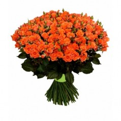 Осень (55 роз)