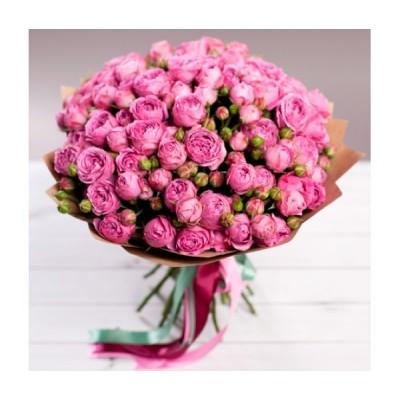 Пионовидные (25 роз)