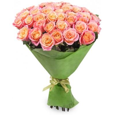 Букет Рыжая (35 роз)