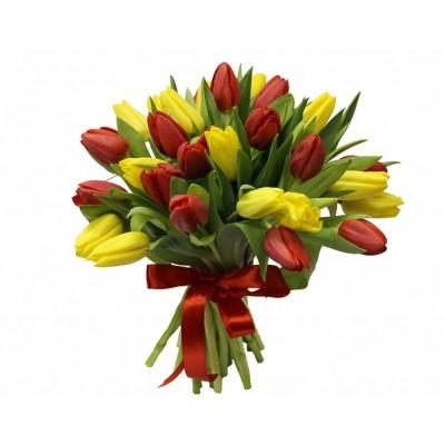 """Букет тюльпанов """"Антверп"""" 25 шт"""