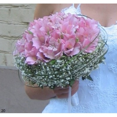 Букет невесты Бильбергия