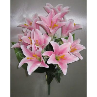 Лилия искусственная розовая