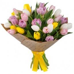 Букет тюльпанов Коммелина