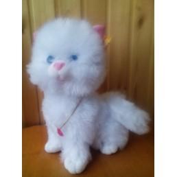 Котенок игрушечный Пышка