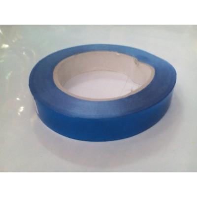 Лента металлик синий