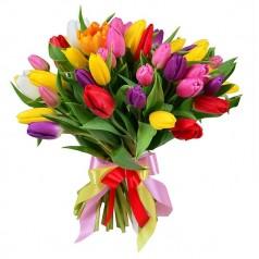 Букет тюльпанов Атлас