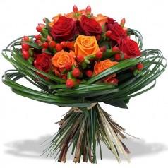 Букет цветов Гиперикум