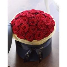Букет Чёрный (31 роза)