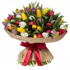 Букет тюльпанов Нарядный