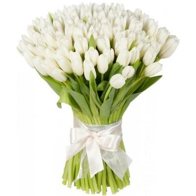 Букет тюльпанов Облако