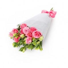 Эустома розовая 7 шт
