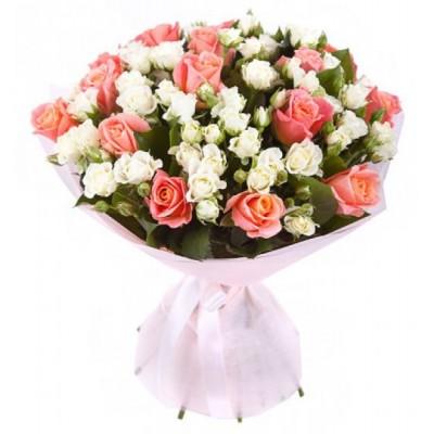 Утонченная (23 розы)