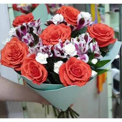 """Букет цветов """"Скромная улыбка"""""""