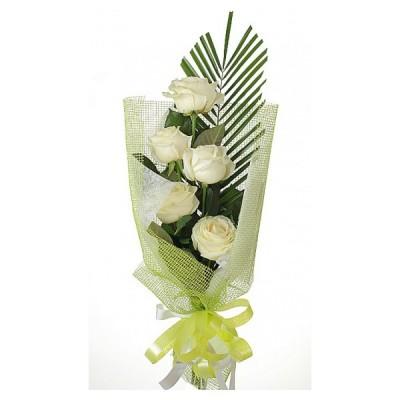 Каскад (5 роз)