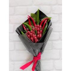 """Подарок с колбасой и перцем для мужчин """"Любимый мой"""""""