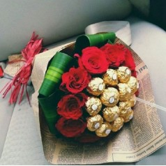 Букет роз Сокровенная Мечта