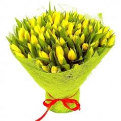 Букет тюльпанов Солнечный