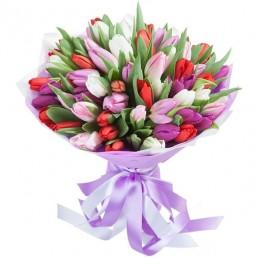 Букет тюльпанов Сумерки