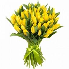 Букет тюльпанов Золото