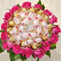 Букет роз Вдвойне Красивая