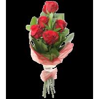 Беззаботная юность (красные розы)